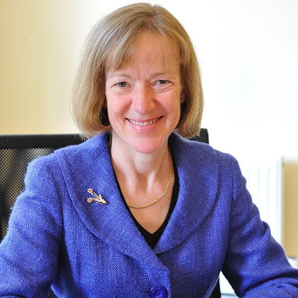 Photo of Dr Liz Goodwin OBE