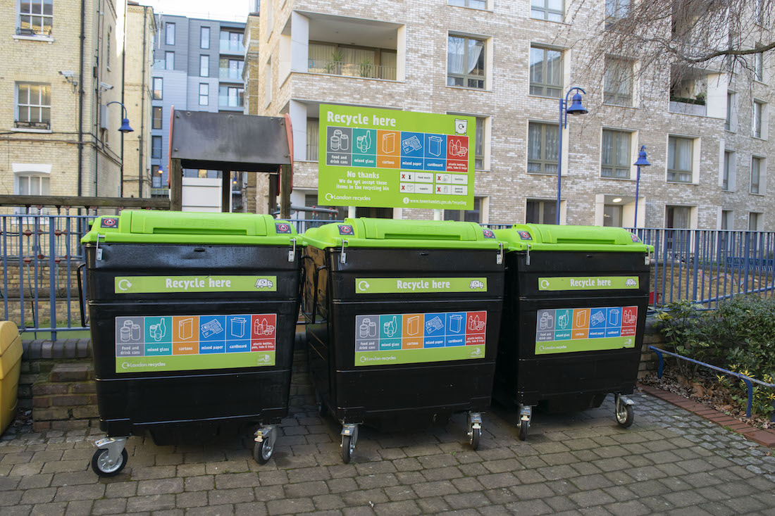 Making recycling work for people in flats project - featured image