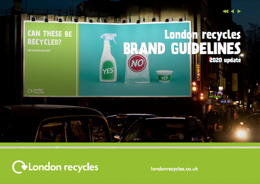 London Recycles Brand Guidelines thumbnail - Featured Image
