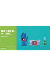 Plastics recycling (PPE) campaign 48 sheet thumbnail image