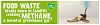 London recycles food waste recycling campaign - banana animated web banner