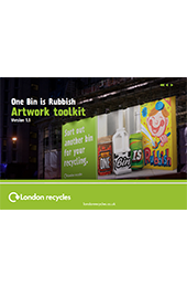 One bin is rubbish artwork guidelines thumbnail image