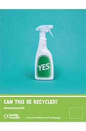 Plastics recycling press ad portrait thumbnail image