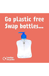 Plastics recycling (waste prevention) social media animated thumbnail image