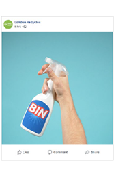 One bin is rubbish social media priming assets (animated) thumbnail image