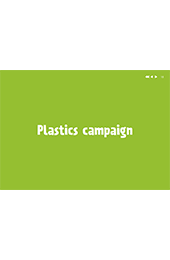 Plastics recycling campaign artwork and guide thumbnail image